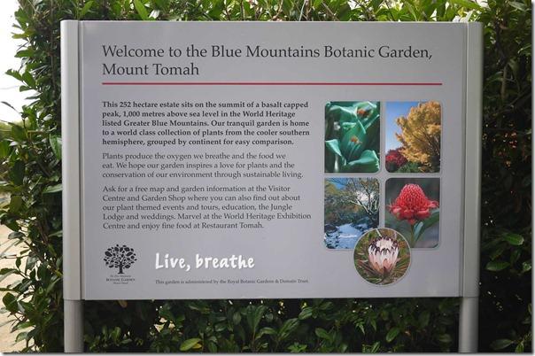 Mount Tomah Botanic Garden