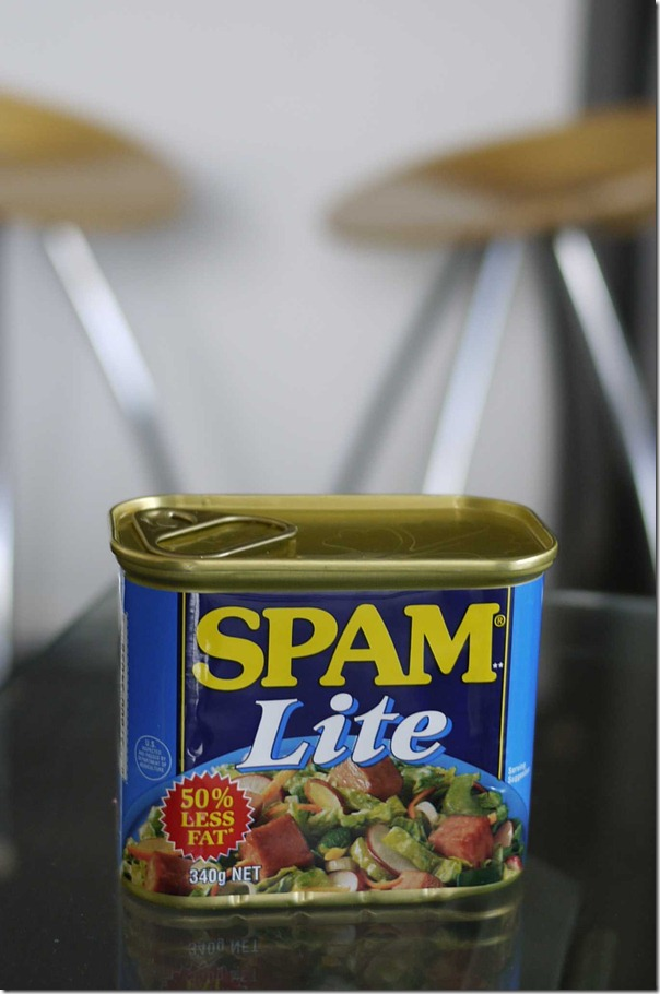 SPAM Lite - 50% less fat