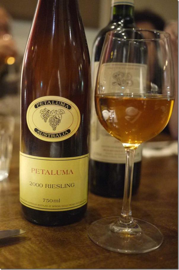 Petaluma Riesling 2000