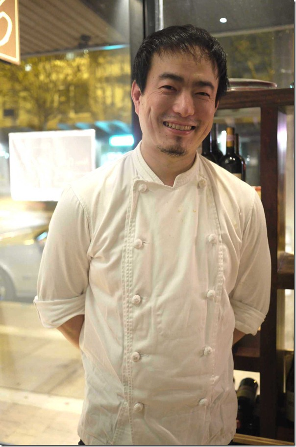 Toru Ryu, Head chef, Restaurant 16, Neutral Bay, Sydney