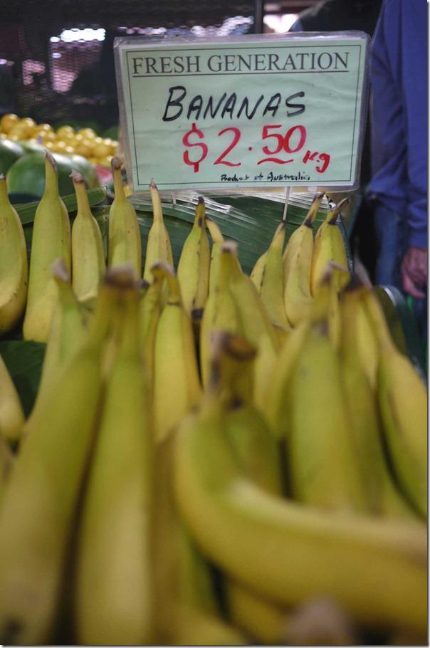 Bananas, Queen Victoria Market