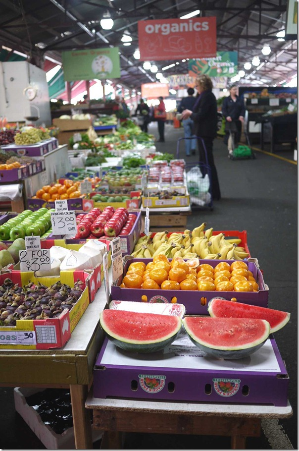 Fresh fruit markets, Queen Victoria Market