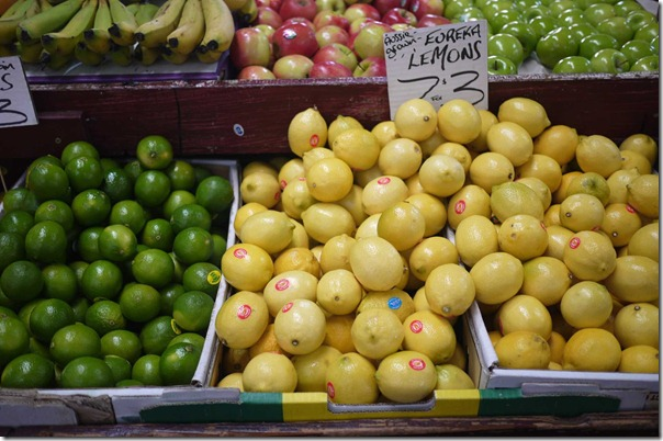 Limes and lemons, Queen Victoria Market