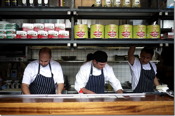 On the ball: Chefs at Movida Aqui, Melbourne