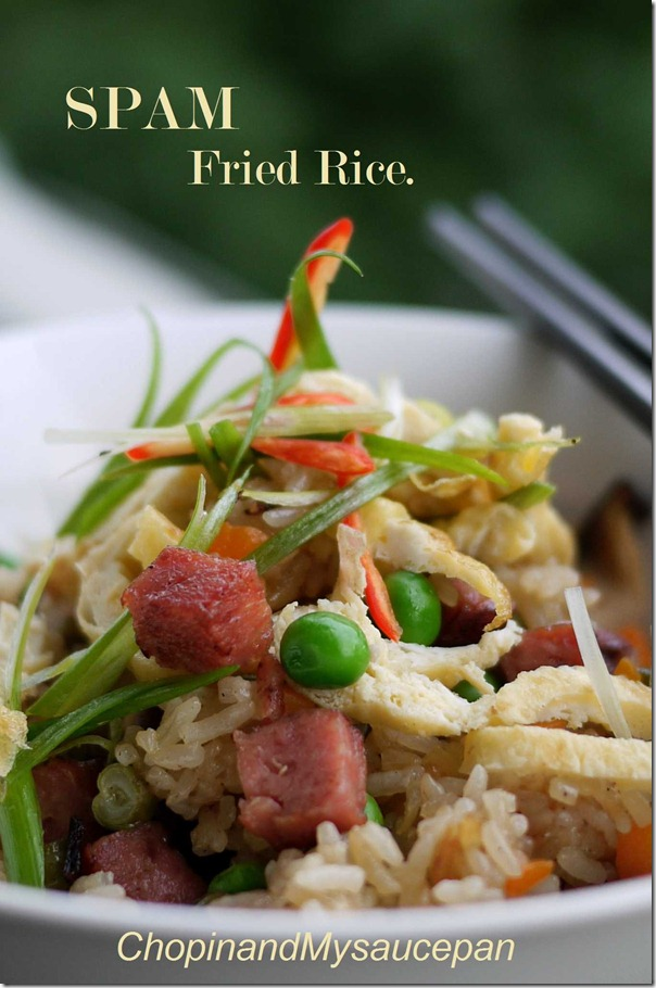 Spam Fried Rice Recipe — Dishmaps