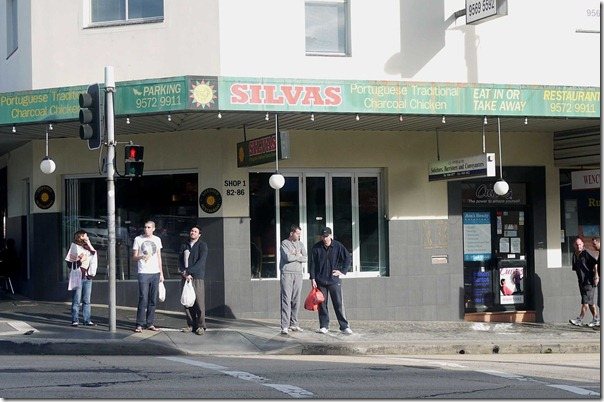 Silvas charcoal chicken, Petersham