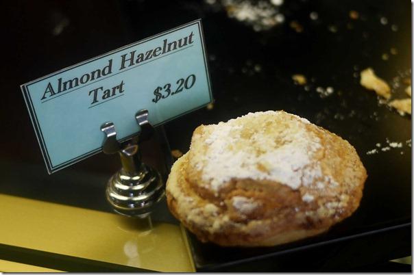 Almond hazelnut tart $3.20
