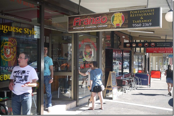 Frango Portuguese charcoal chicken, Petersham