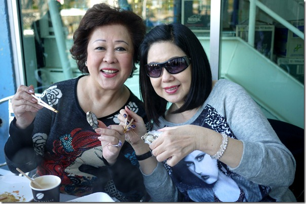 Mum's best food buddies: Aunty Janet and Aunty Margaret