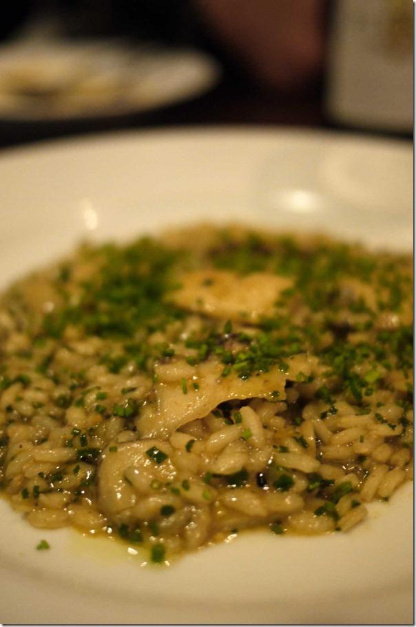 Abalone risotto