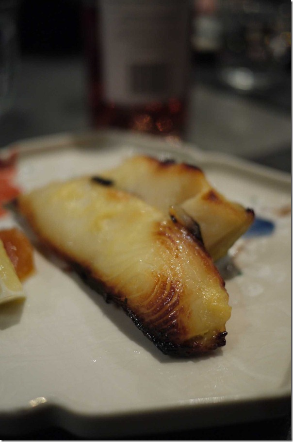 Saikyo Yaki: Grilled marinated cod $27.50
