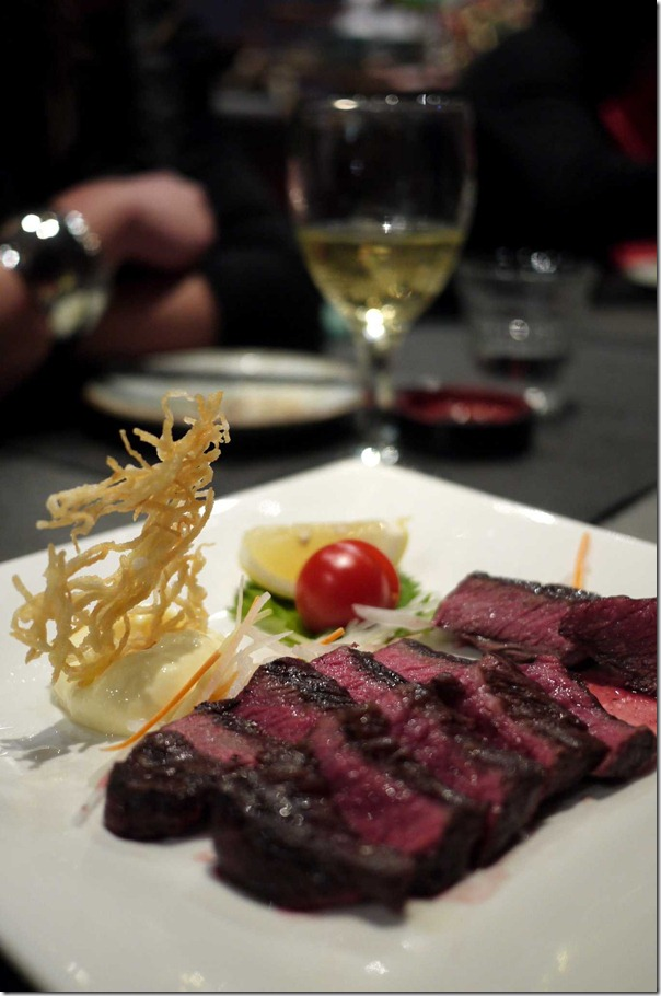 Wagyu steak $27.50