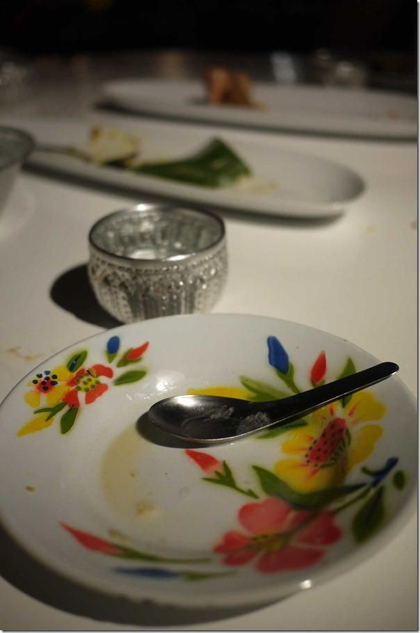 An empty plate and the end of a wonderful food safari