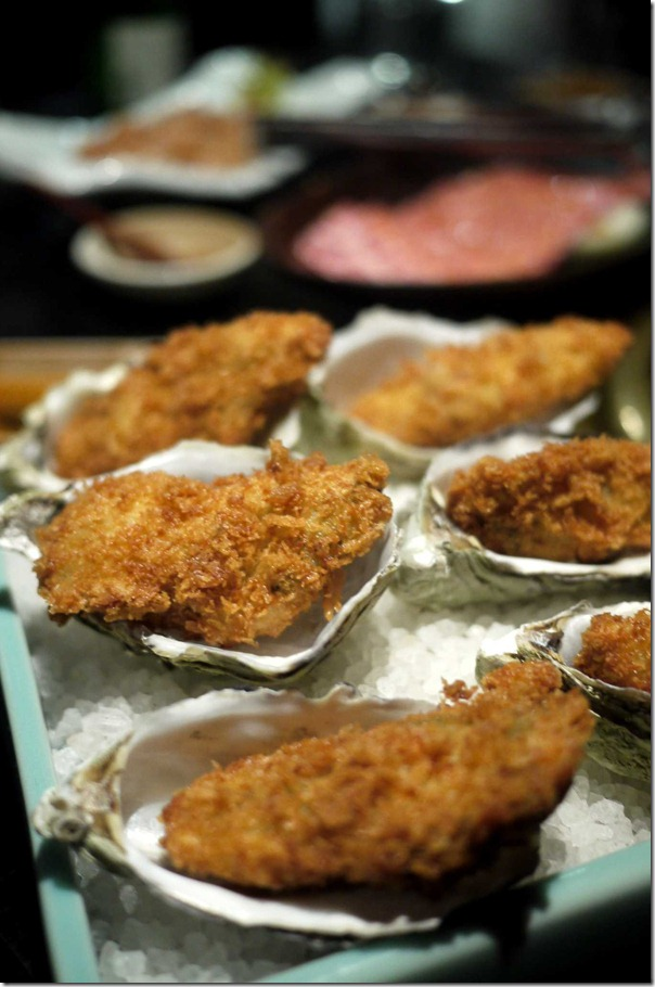 Deep fried oyster $20.80 for half dozen