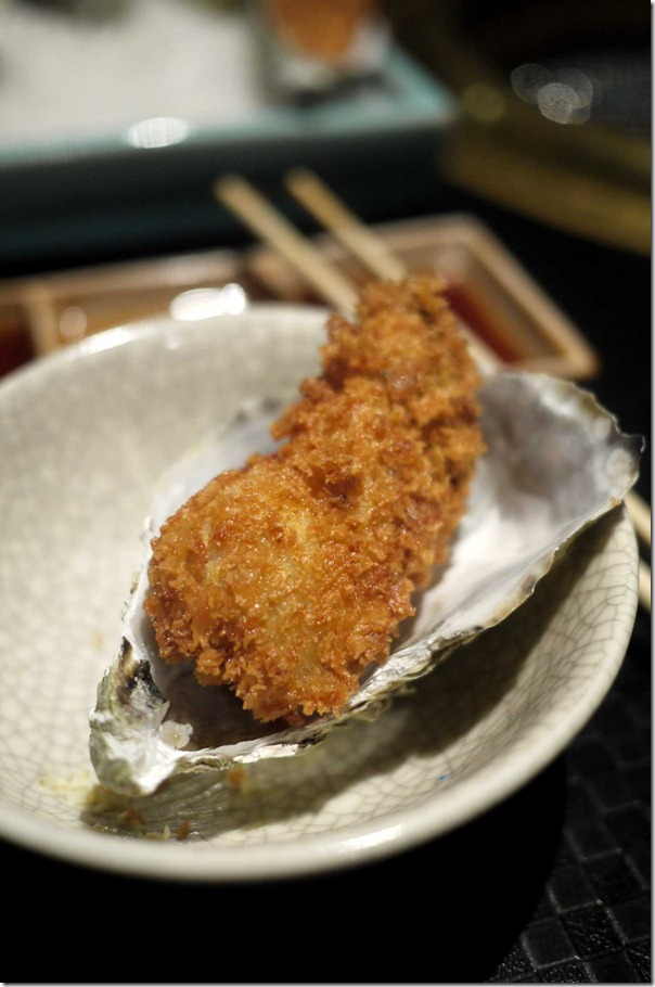 Crispy outside, succulent inside: Deep fried oyster