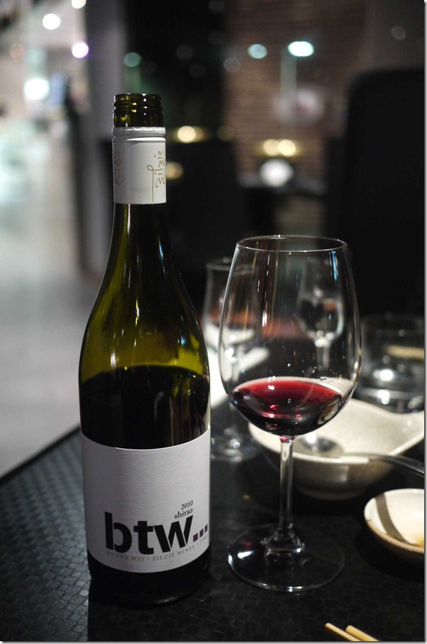 2010 btw Shiraz by Zilzie wines $36