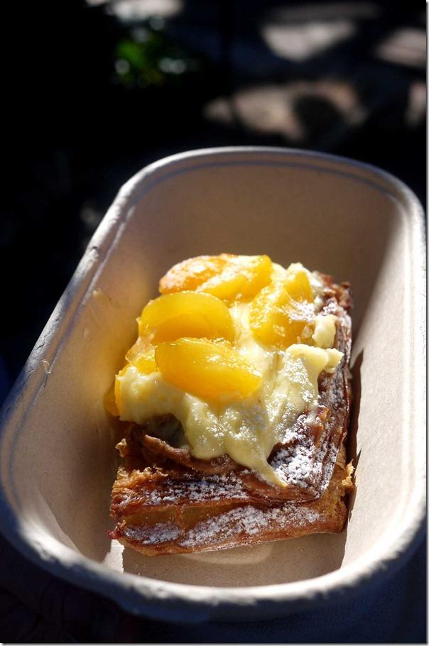 Apricot Danish pastry $6