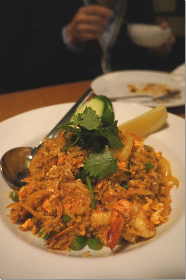 Kao Pad Mun Goong or Prawn Fried Rice $12.90