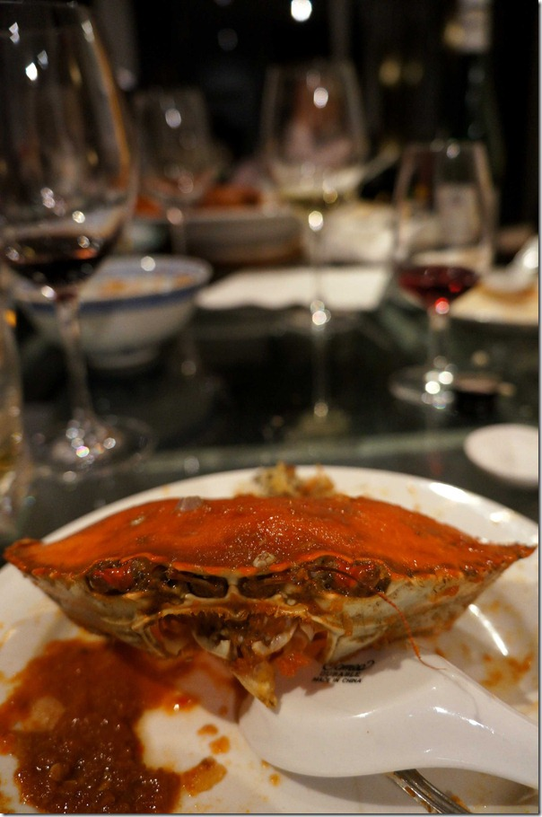 This tasty crab doesn't care where you come from