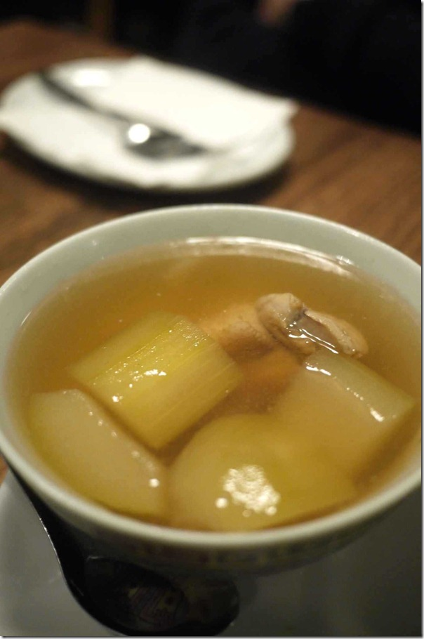 Winter melon soup $5