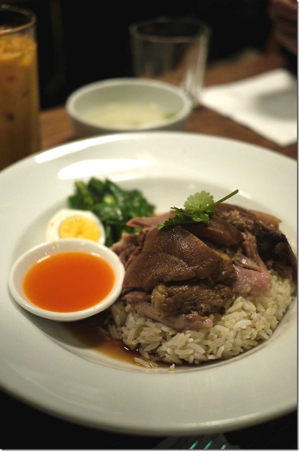 Kha Moo Pork Leg with rice $8.50