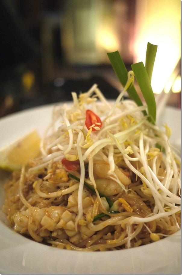 Seafood Pad Thai $13