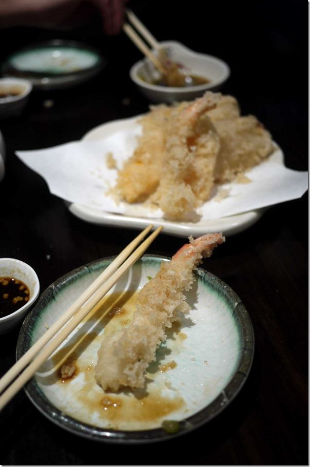 Mixed tempura $17