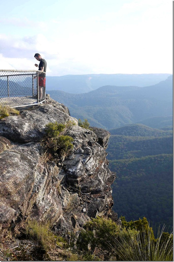 Bushwalking in the Blue Mountains