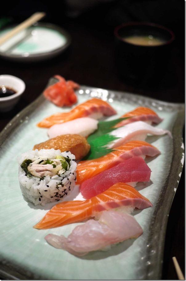 Mixed sashimi plate $16