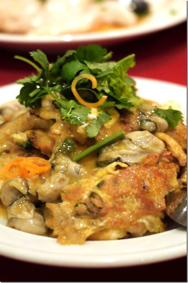 Oluak or oyster omelette $28.80