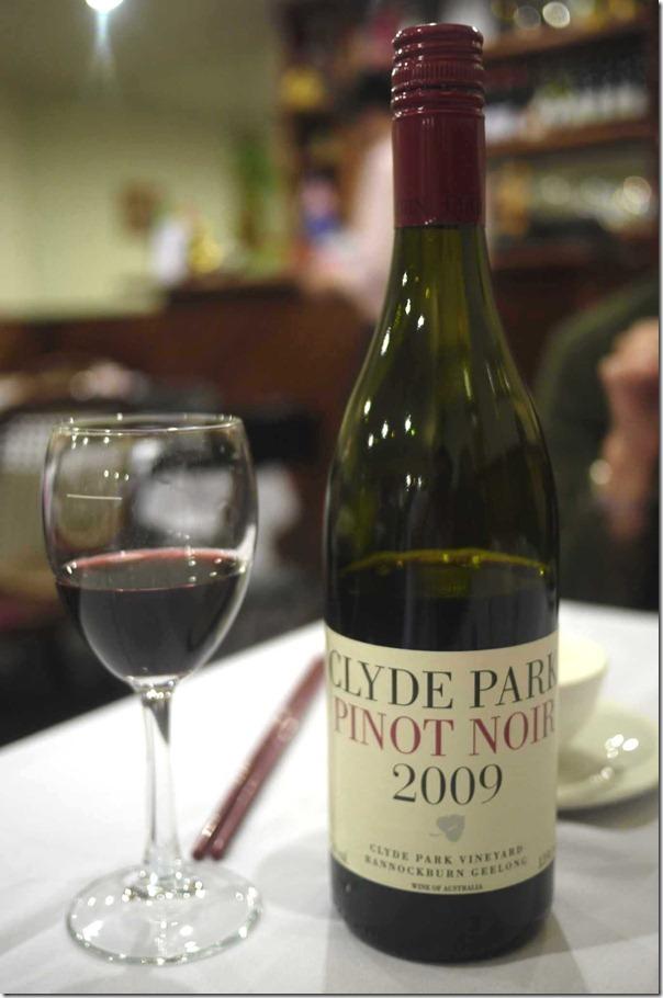 2009 Clyde Park Pinot Noir