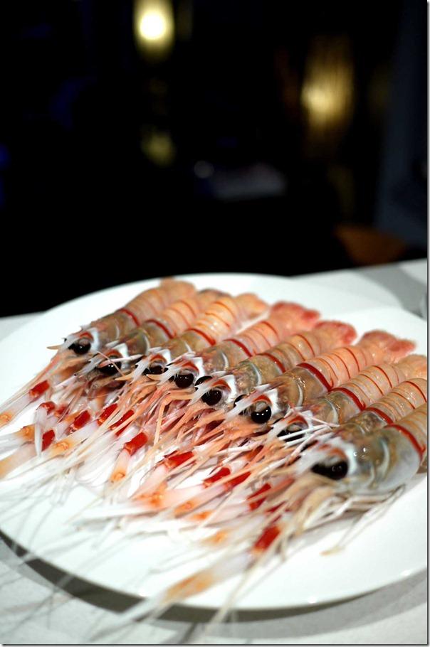 Fresh New Zealand scampi ($34.99 per kg at Sydney Fish Market)