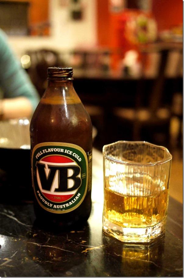 VB beer $6