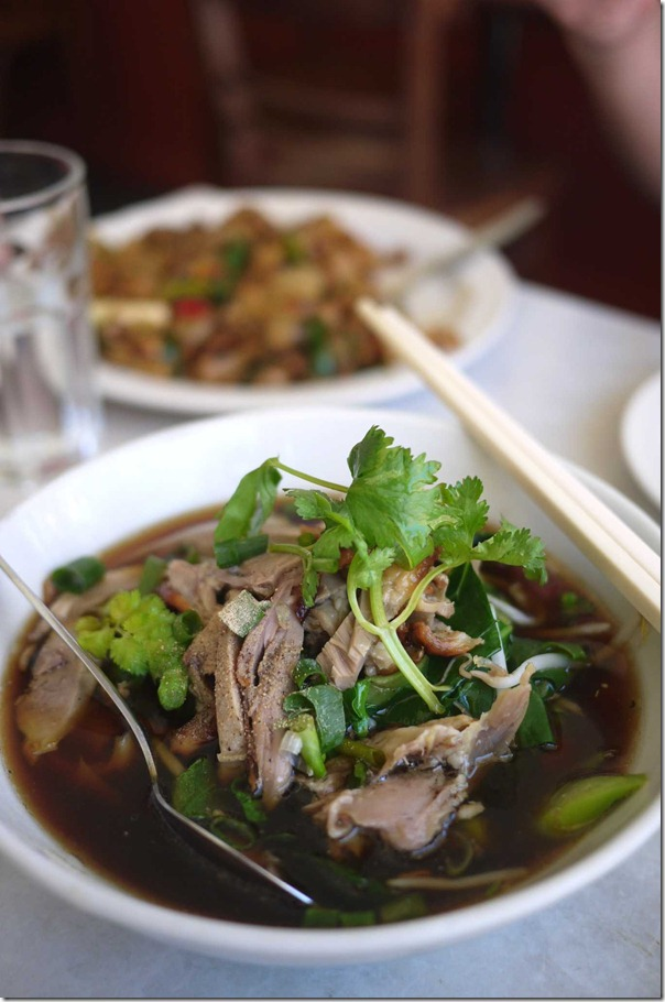 Special duck noodles $12.80
