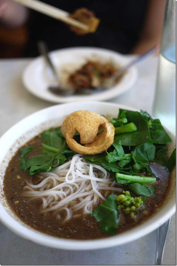Duck boat noodles soup $9