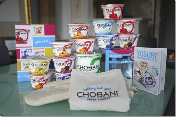 Chobani Greek Yogurt range