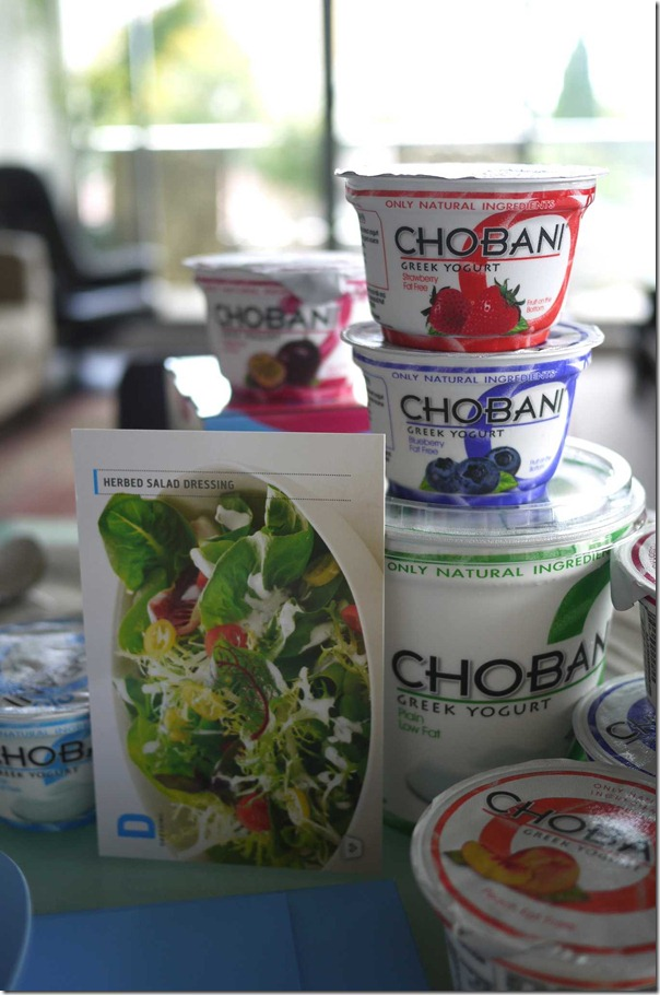 Herb salad dressing recipe with Chobani Greek yogurt