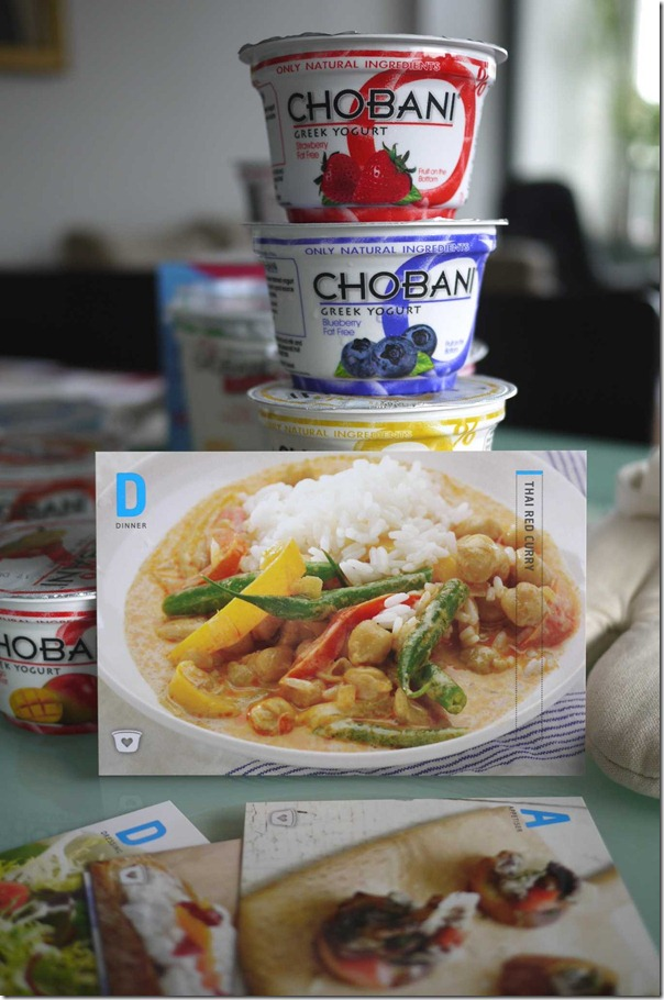 Thai red curry recipe with Chobani Greek yogurt
