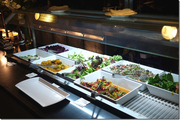 Salad bar, Rio Barbecue