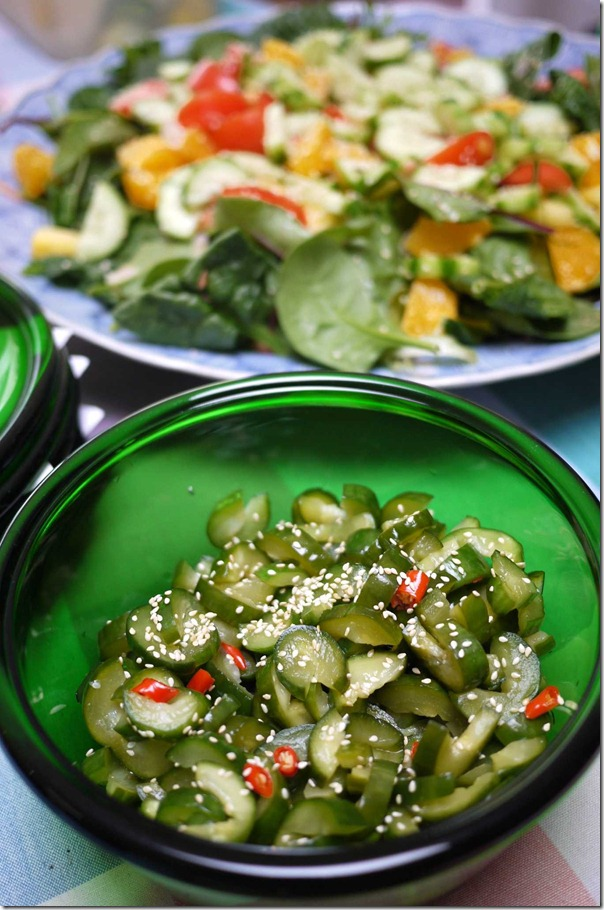 Lena's pickled cucumber