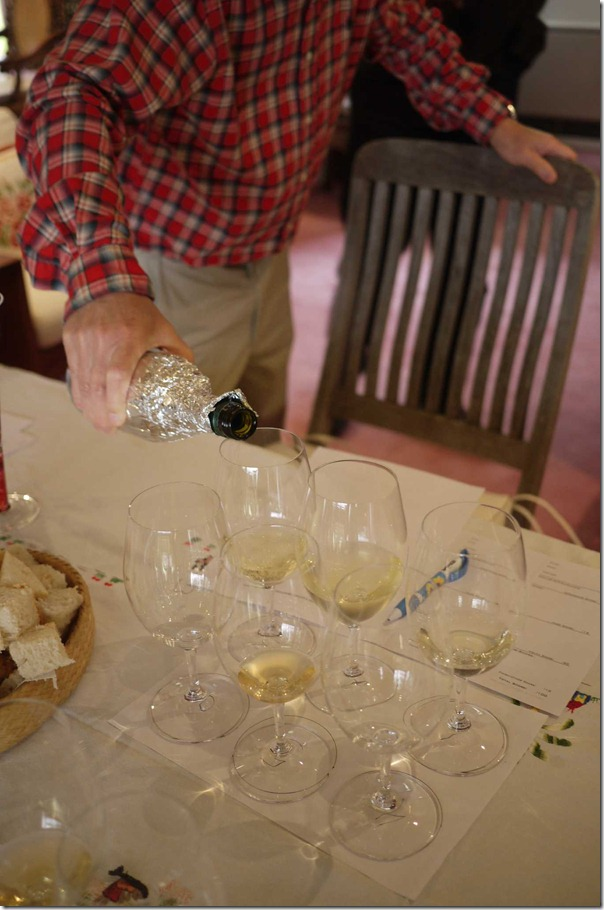 Blind tasting of white varietals