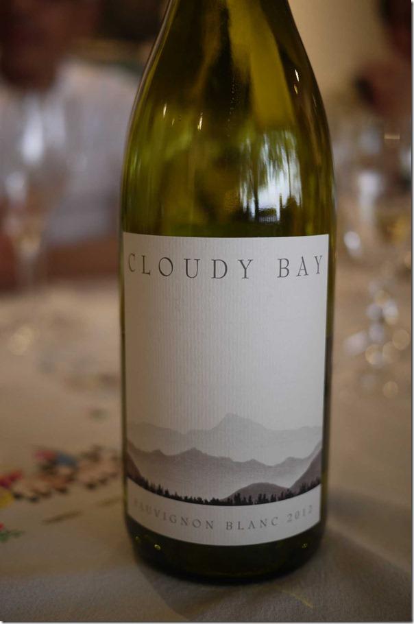 2012 Cloudy Bay Sauvignon Blanc