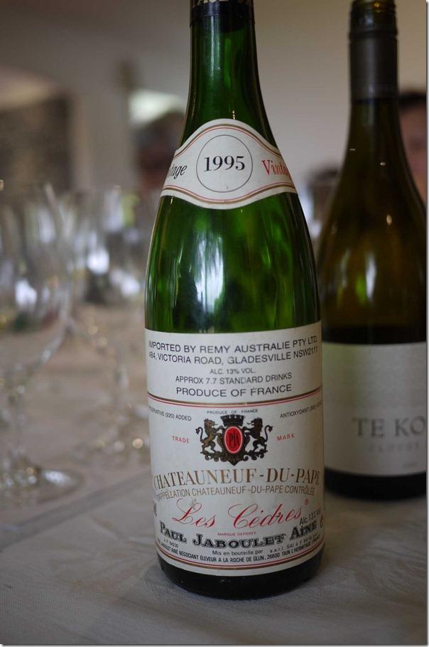 1995 Chateauneuf du Pape