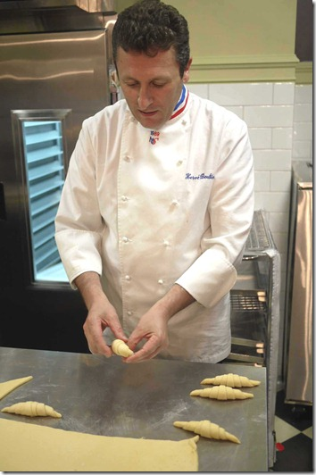 Herve Boutin on the finer points of making a croissant