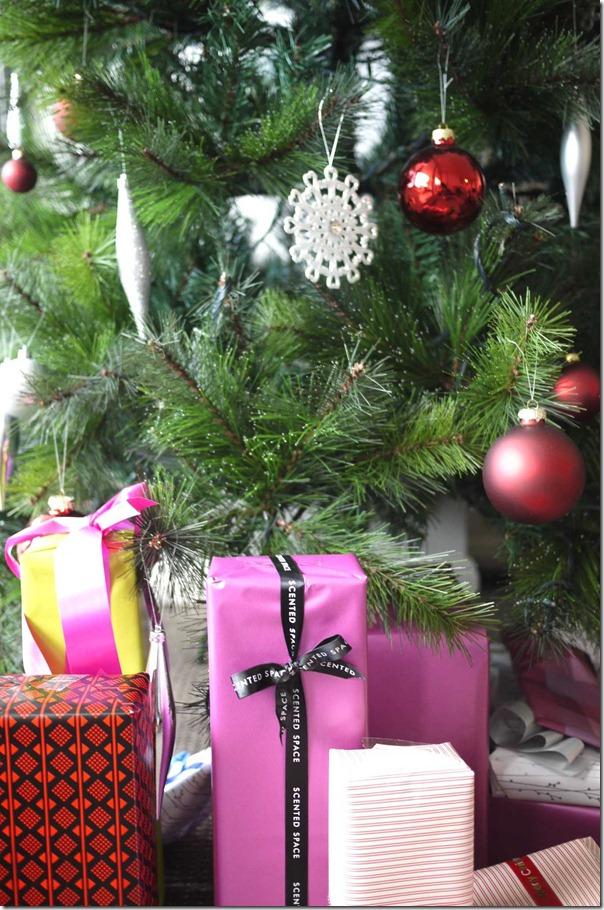 Christmas tree, December 2012