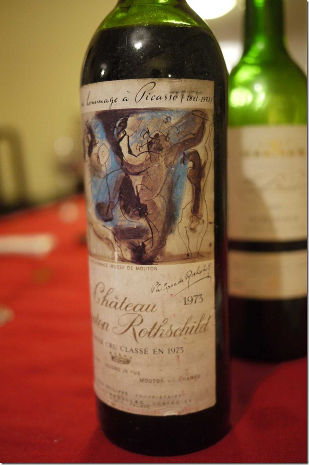 1973 Chateau Mouton Rothschild