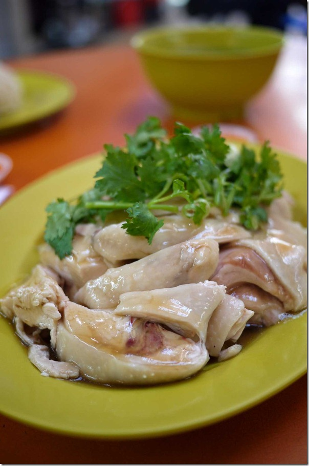 World class: Smooth, velvety and tasty Hainanese chicken