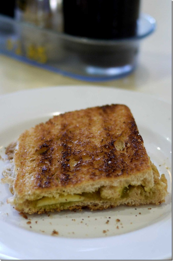 Kaya toast with butter