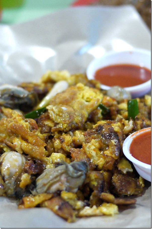 O-chien or oyster omelette S$4 or A$3.30