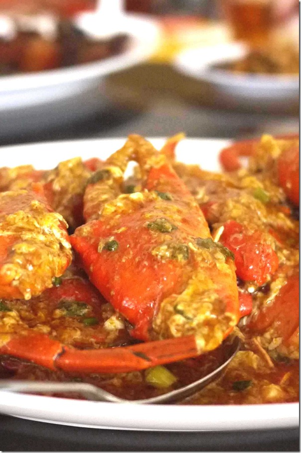 Chilli mud crabs